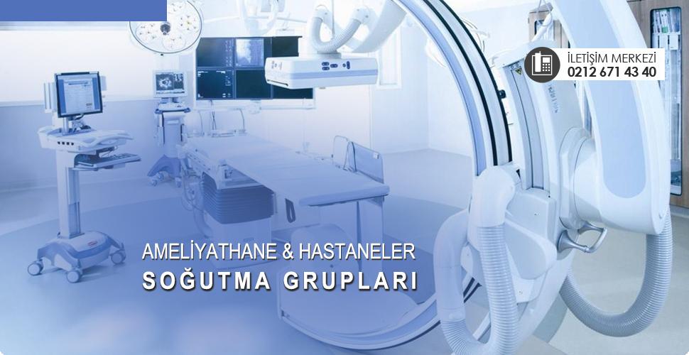 Hastane ve ameliyathaneler için soğutma grupları