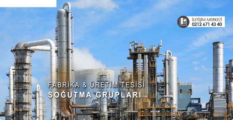 endüstriyel amaçlı soğutma grupları ve chiller sistemleri